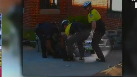 nr live malveaux freddie gray arrest video _00022115