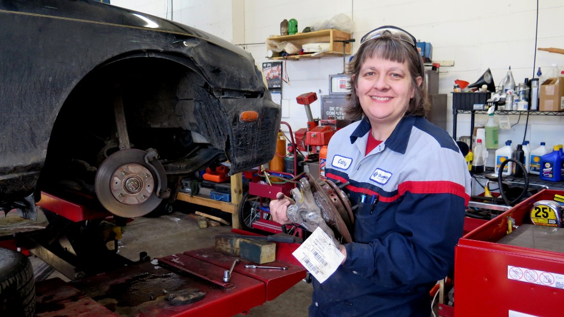 CNN Hero Cathy Heying helps the needy repair their vehicles. Heying sells parts at cost, with no markup, and charges $15 an hour for labor; the going rate in Minneapolis is around $100 an hour. The result? Big savings for her customers. And for those who can't pay in full, she will work out payment plans. To date, Heying has provided affordable car repairs to more than 300 low-income individuals, saving them more than $170,000 and keeping them on the road to success.