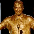 david beckham gold paint