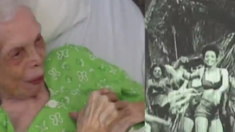 102 year old dancer sees herself on film for the first time Newday daily hit _00002505.jpg