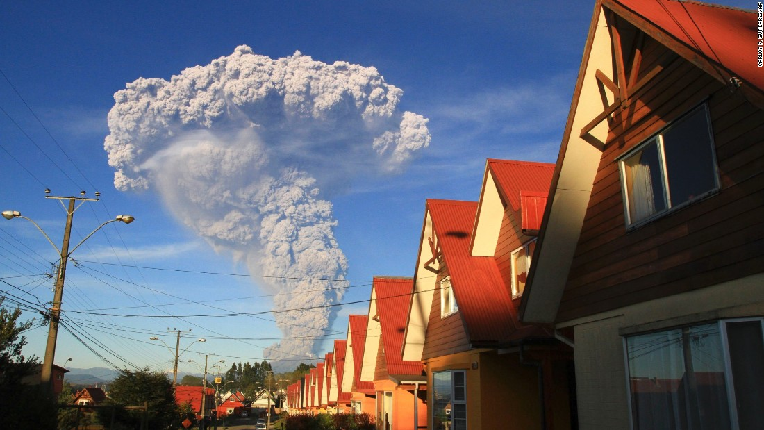 Officials have declared a state of emergency in the town of Llanquihue and the town of Puerto Octay as well as a red alert for Chile's Lakes Region and the towns of Puerto Montt and Puerto Varas.