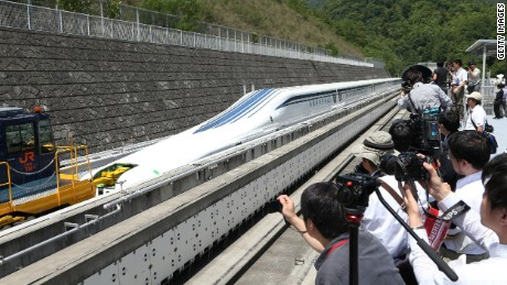 Maglev: World's fastest train takes you a mile in 10 seconds