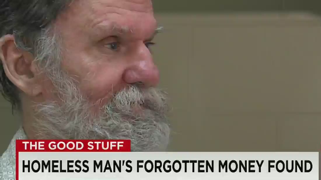 Homeless man discovers long-lost bank account - CNN Video