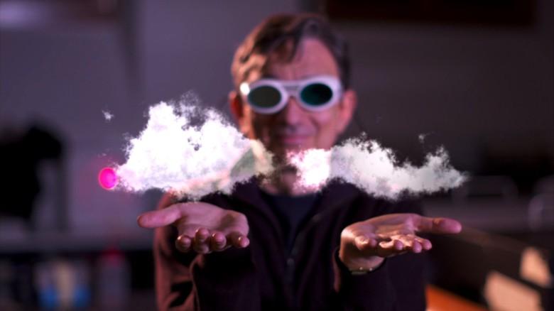 Making clouds in a lab