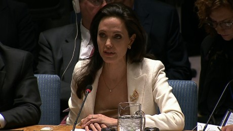 Angelina Jolie makes plea for Syrian refugees