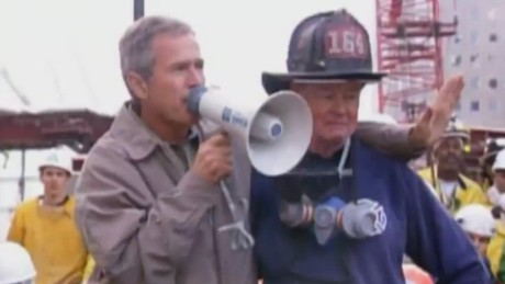 sot george w bush 911 fdny bullhorn i can hear you_00000523