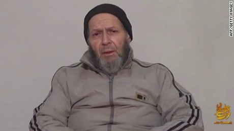 """This December 26, 2013 still image taken from video and released by the SITE INtelligence Group shows Warren Weinstein, a US contractor held by Al-Qaeda militants. The White House said April 23, 2015 that a US operation in January against an Al Qaeda compound near the Afghan-Pakistan border killed one American and one Italian hostage, along with an American member of the jihadist group. Another American, Al-Qaeda spokesman Adam Gadahn, was killed, """"likely in a separate US government counterterrorism operation."""" """"No words can fully express our regret over this terrible tragedy, """" the White House said, revealing the previously classified finding. The president """"takes full responsibility for these operations."""" The White House identified the hostages killed in the operation against the border compound as US contractor Warren Weinstein and Italian aid worker Giovanni Lo Porto. = RESTRICTED TO EDITORIAL USE / MANDATORY CREDIT: """"AFP PHOTO HANDOUT-SITE INTELLIGENCE GROUP""""/ NO MARKETING - NO ADVERTISING CAMPAIGNS / DISTRIBUTED AS A SERVICE TO CLIENTSHandout/AFP/Getty Images Credit: AFP/Getty Images"""