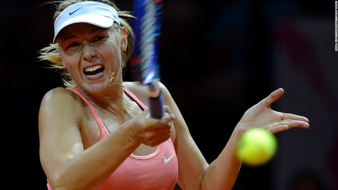 Superimposed pictures of maria sharapova naked