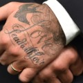 david beckham hand tattoo