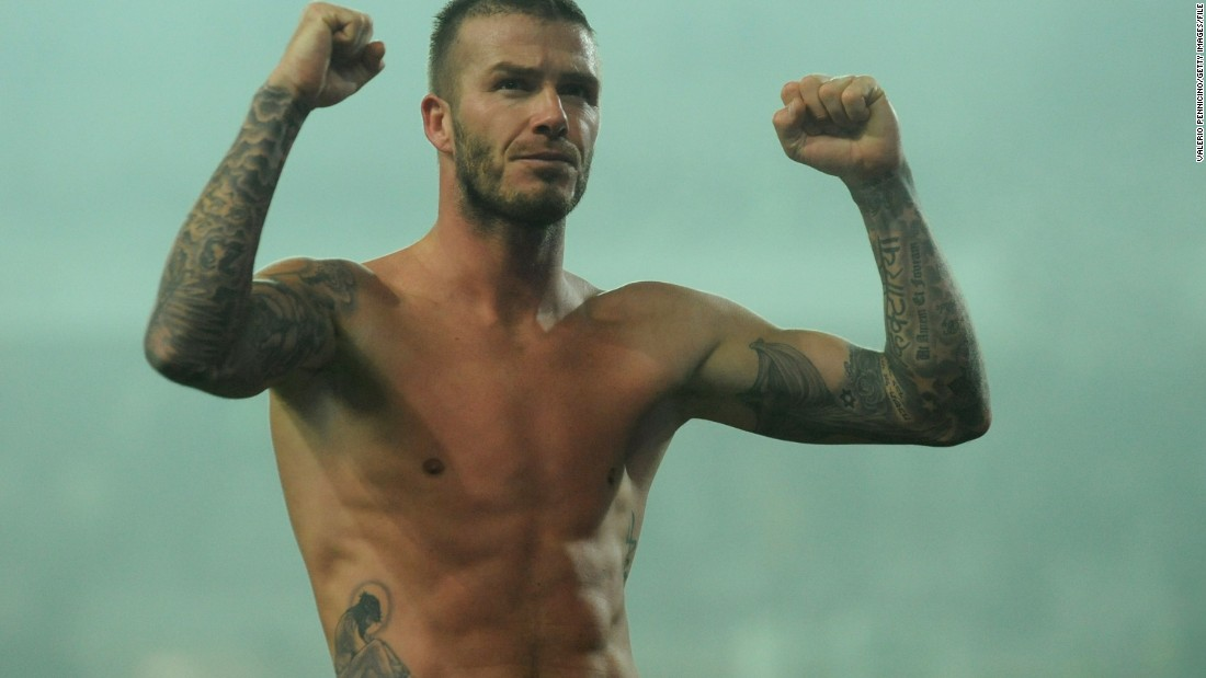 While still an LA player, Beckham made two loan moves back to Europe with Italian club AC Milan during Major League Soccer's offseason.