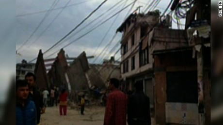 Witness: 'Houses have cracked and fallen'