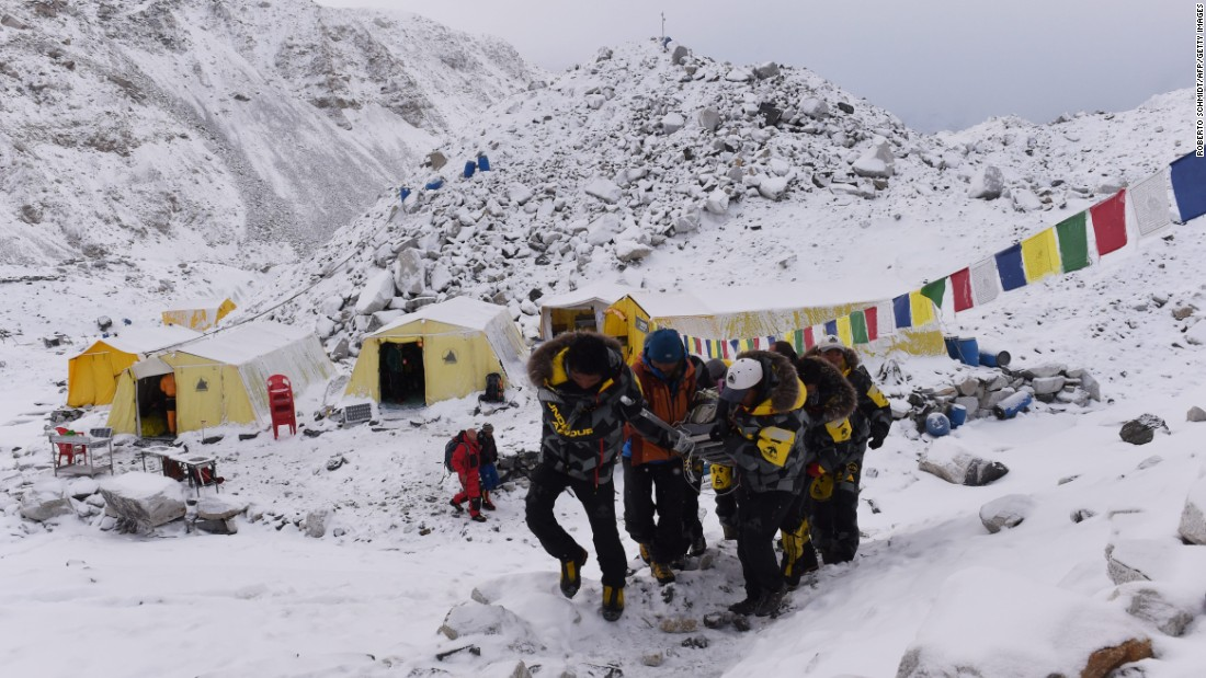 Kuriki could be the only climber to ascend Everest this year. He's the only one to have received a permit for the climb. The Nepali government closed Everest in April after an earthquake triggered avalanches that killed 19 people.
