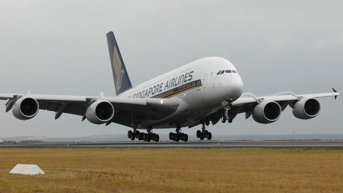 Singapore Airlines was the first to take delivery of an A380. The first commercial A380 flight ran from  Singapore to Sydney's Kingsford Smith Airport on October 25, 2007.