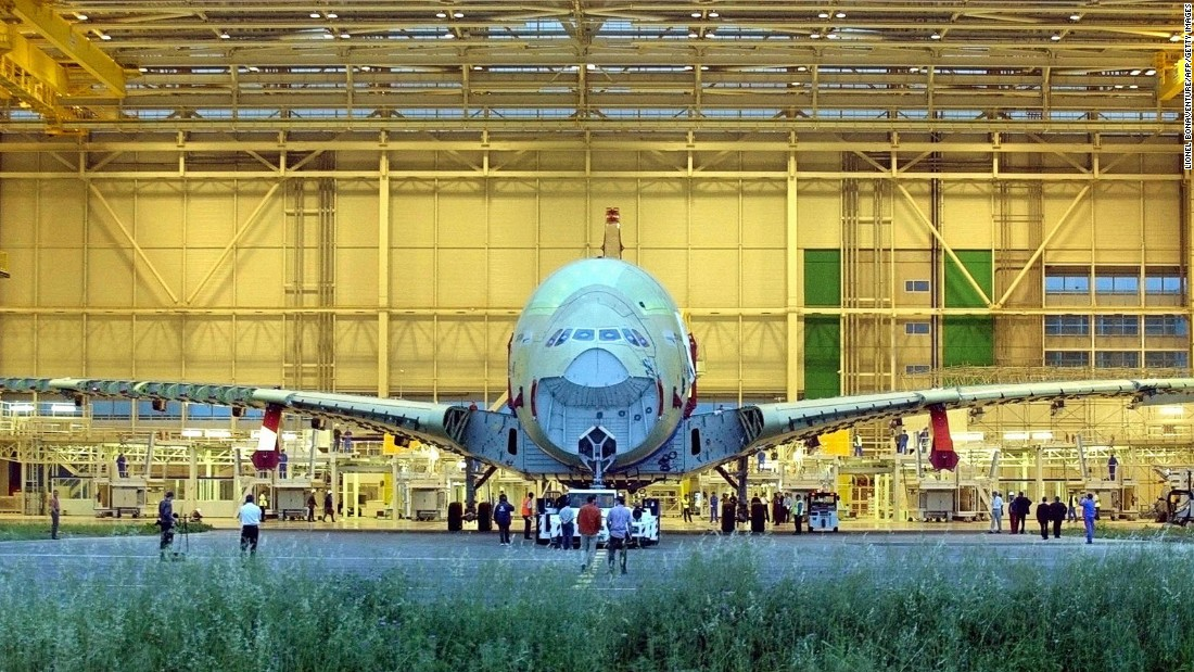 The Toulouse production line is currently working through an order list of more than 160 aircraft.