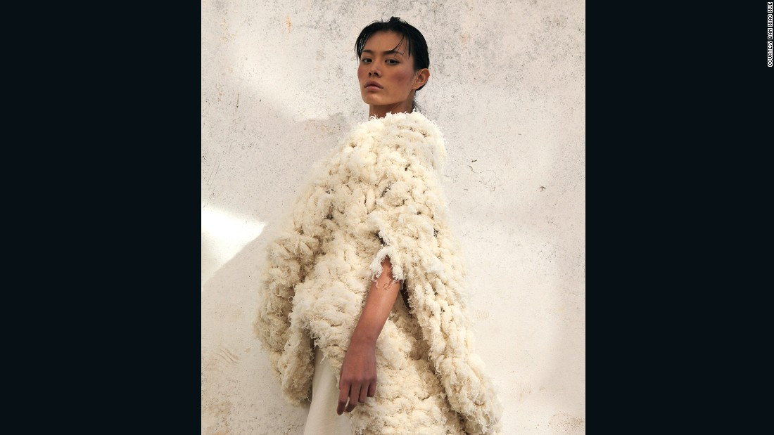 "<a href=""http://www.banxiaoxue.net/"" target=""_blank"">Ban Xiao Xue</a> was a finalist for the International Woolmark Prize for China in 2012, the same year he founded his brand. His primary motive is to replicate natural forms. ""All living things have their particular color, texture and structure, and what I do is just make records,"" he told Williams."