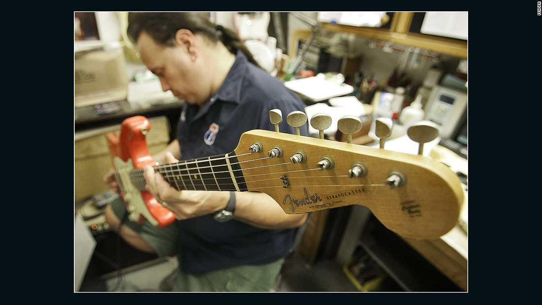 It's $10 for adults to tour the Fender Factory and Custom Shop in Corona, California. The guitars will set you back considerably more.