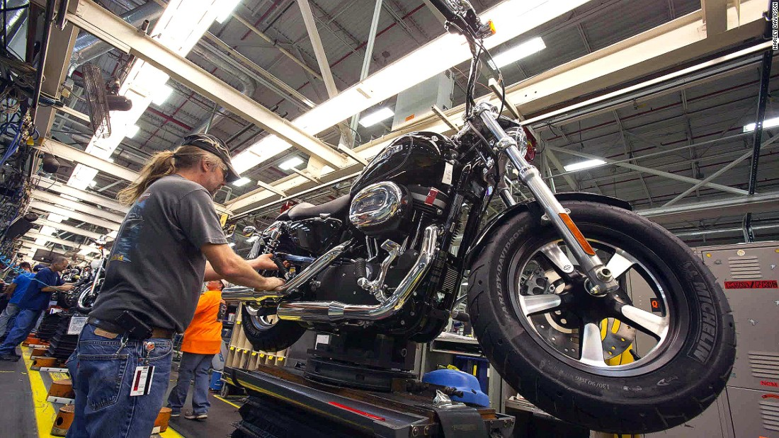 Harley Davidson's Kansas City plant shows visitors the complete assembly of its dream machines. The Steel Toe Tour is $35.