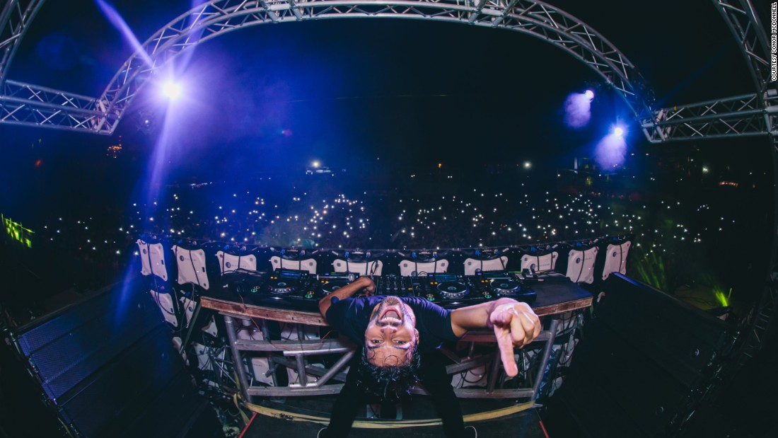 He caught this photo of Dutch DJ R3hab in Guatemala City this year.