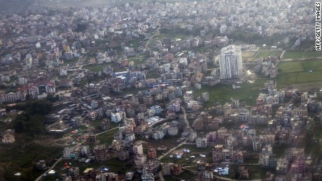 CNN embeds with Nepalese military to survey destruction