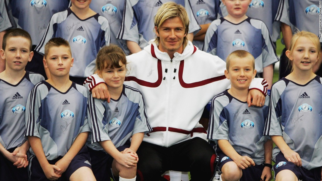 Beckham launched his own soccer academy in 2005, with bases in London and Los Angeles. Both closed within five years during the global economic crisis.