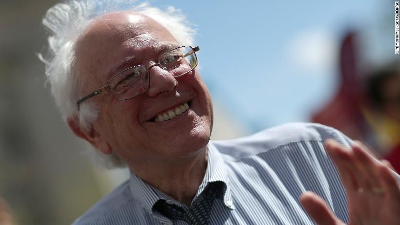 Sen. Sanders declares presidential candidacy