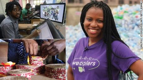 Entrepreneurs in Lagos