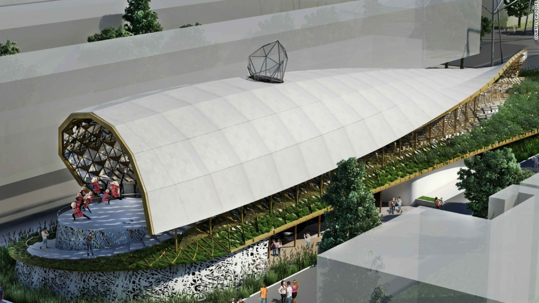 Expo 2015 the most impressive pavilion designs for Semi open spaces