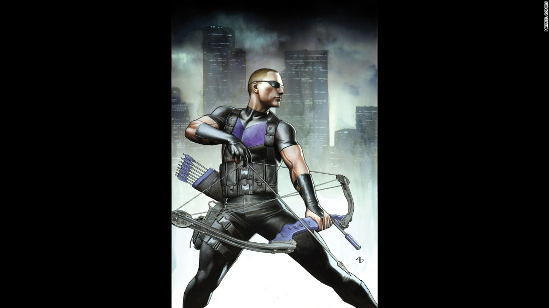 Hawkeye is a mainstay on the Avengers team in the comics.