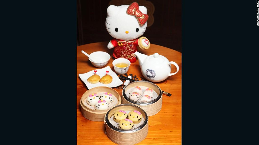 hello kitty chinese cuisine hong kong dim sum. Black Bedroom Furniture Sets. Home Design Ideas