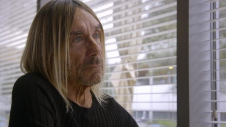 Eating healthy with Iggy Pop