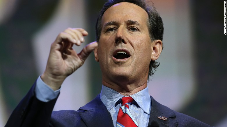 Rick Santorum announces 2016 presidential bid