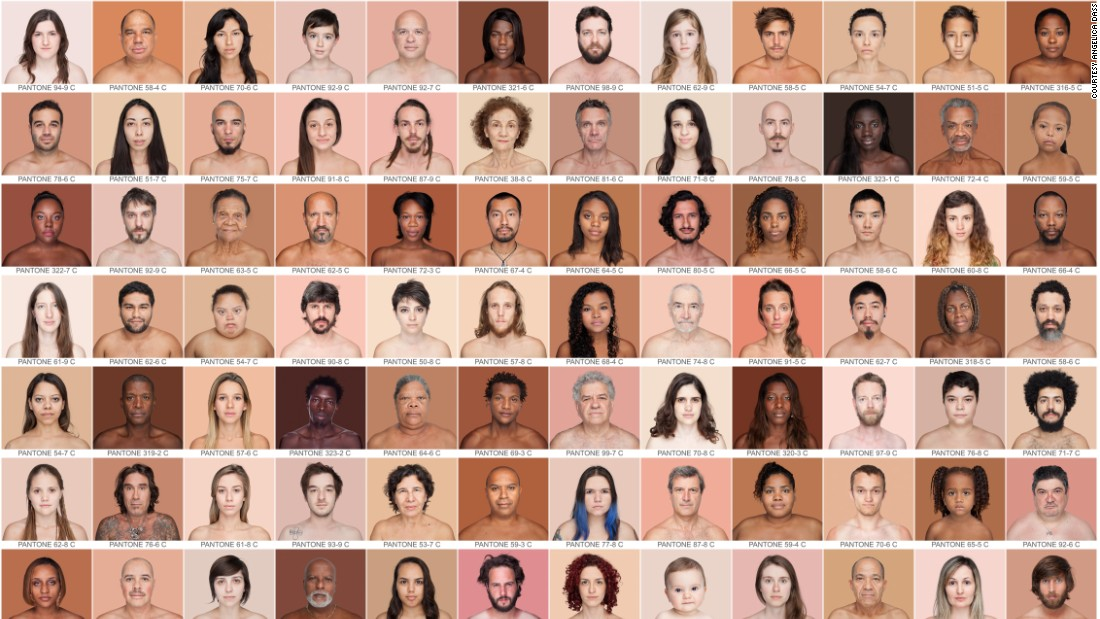 Photographer<strong> Angelica Dass</strong> says she doesn't believe she'll ever capture every shade of human skin. But after shooting 2,500 portraits she has come closer than any other person to cataloging how far the spectrum of human skin extends.