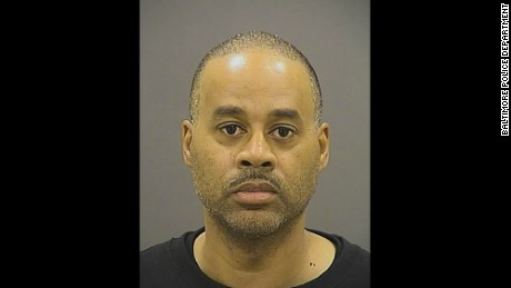Officer Caesar R. Goodson, Jr., 47, drove the transport van carrying Freddie Gray.