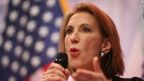 Fiorina speaks to guests gathered at the Point of Grace Church for the Iowa Faith and Freedom Coalition 2015 Spring Kickoff on April 25, 2015 in Waukee, Iowa.