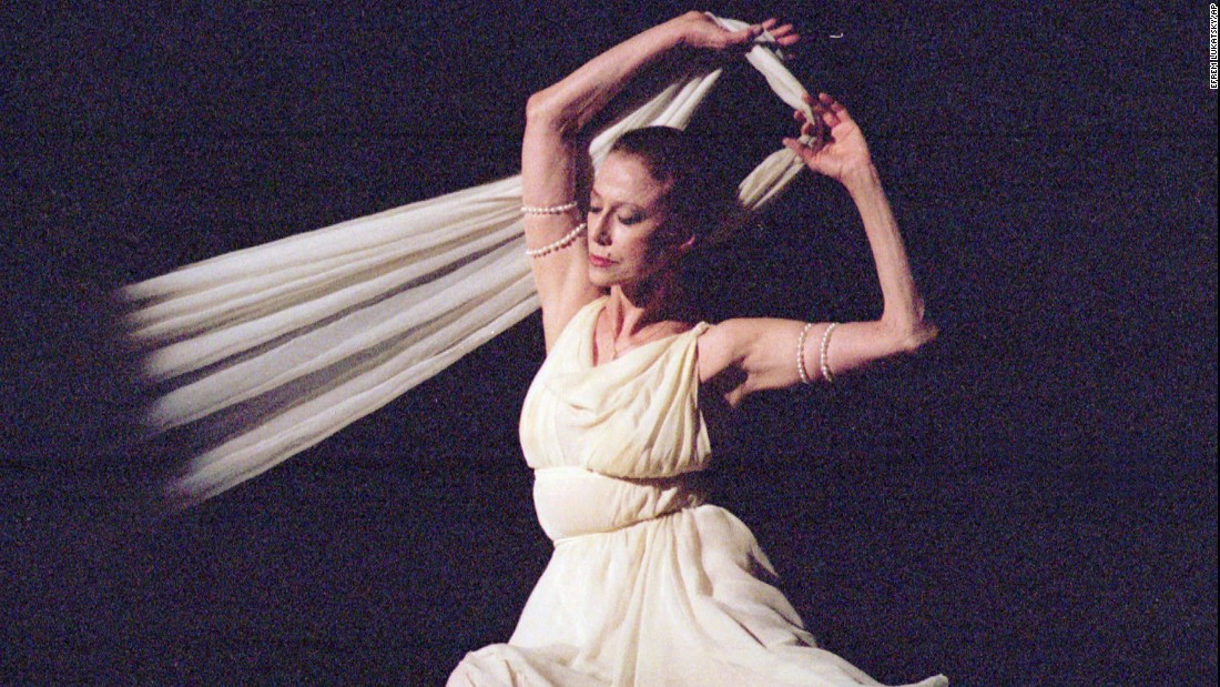 "Russian ballerina <a href=""http://www.cnn.com/2015/05/03/living/feat-russian-ballerina-maya-plisetskaya-dies/index.html"">Maya Plisetskaya</a>, who was considered one of the greatest ballerinas of the 20th century, died on May 2. She was 89."