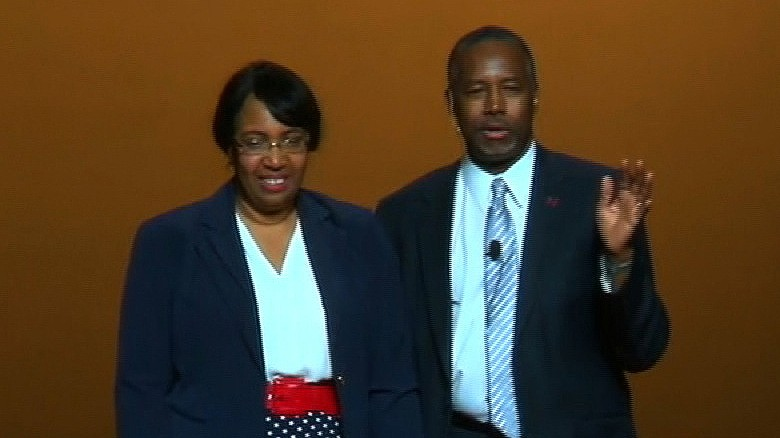 Ben Carson announces his bid for the 2016 presidency