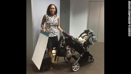 """No one prepared for me just how difficult it would be balancing working full-time in upper management, nursing, pumping and caring for an infant! However, I stuck with it and made it work through lots of trial and error."" -- Aaliyah A. Samuel, Phoenix, Arizona"