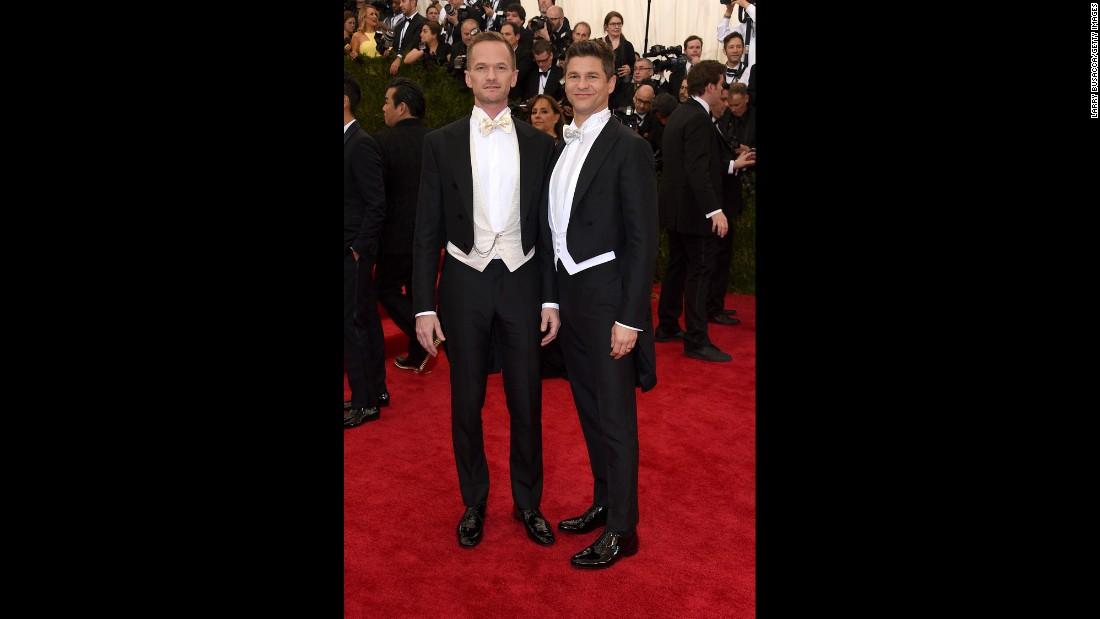 Neil Patrick Harris, left, and David Burtka