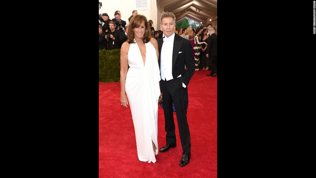 Donna Karan and Calvin Klein