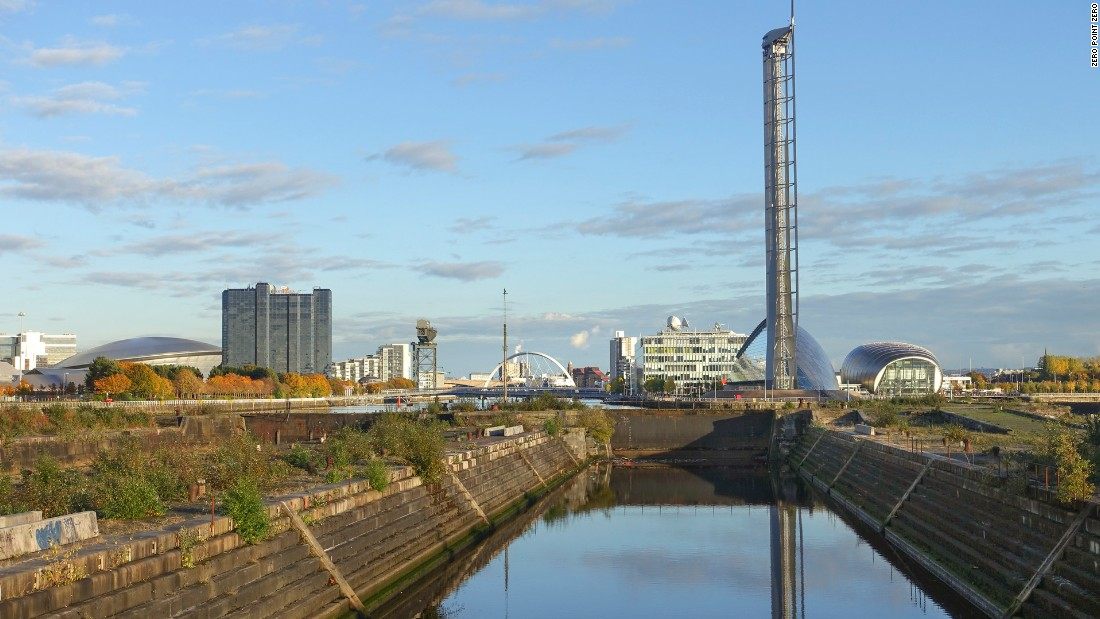 The Govan Graving Dry Docks were once used to help maintain and repair ships.
