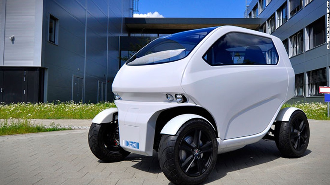 The EO smart concept car -- or EOscc2 for short -- is a flexible electric vehicle designed by German engineers.