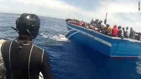 Dozens of migrants drowned at sea trying to reach Italy