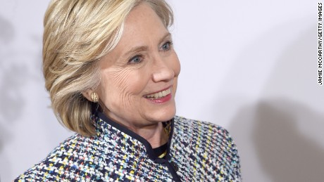 Hillary Clinton attends the 2015 DVF Awards at United Nations on April 23, 2015 in New York City.