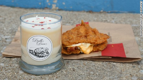 Kentucky for Kentucky is offering a limited edition Double Down candle, which smells like fried chicken and bacon.