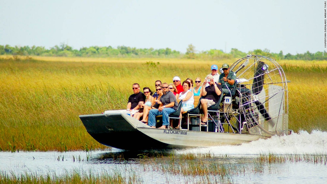 """We want people to understand this is a very special, very unique ecosystem,"" says Jesse Kennon, owner of Coopertown Everglades Airboat Tours."
