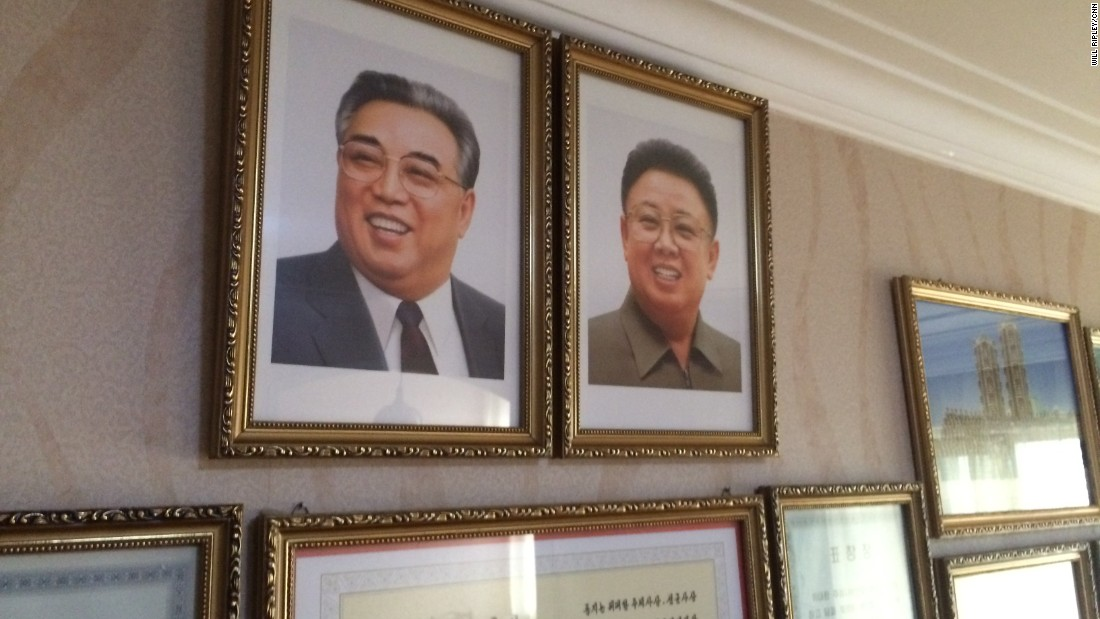 Every home in North Korea displays portraits of late leaders Kim Il Sung and Kim Jong Il. Housing is assigned by the government and is free. Those who want to move have to sign up to exchange spaces with other citizens.