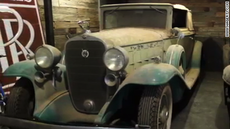 Classic Cars Headed For Auction After Years In Barn Cnn Video