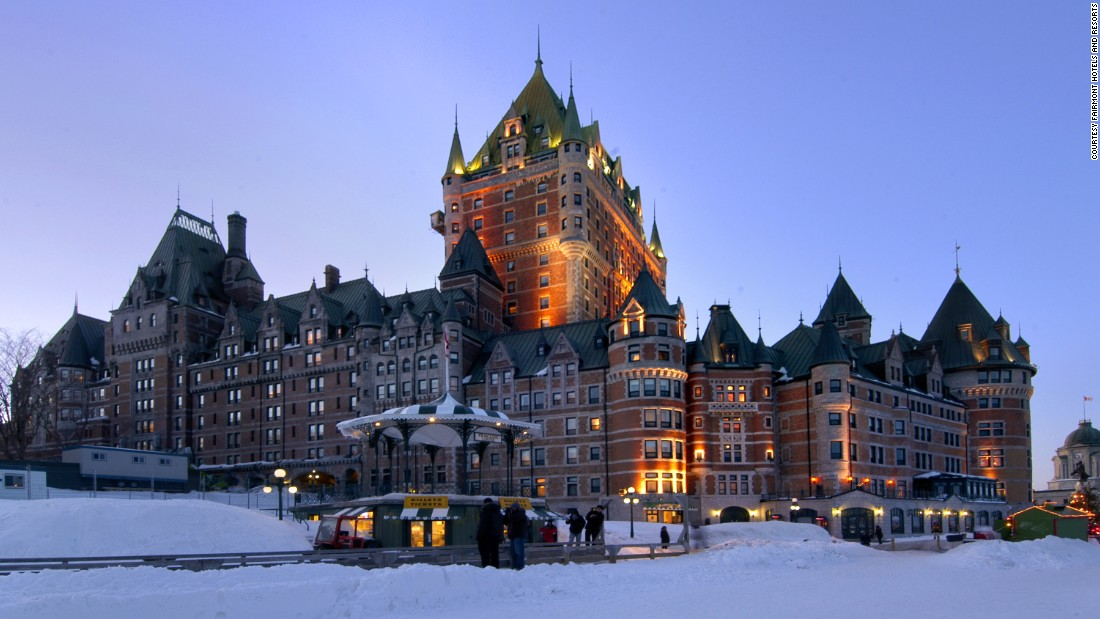 Le Château Frontenac in Québec City was another Canadian Pacific Railway project. The hotel opened in 1893 and has become a symbol of the city.