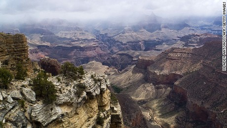 "The Grand Canyon is a regular road trip destination. No ""Thelma and Louise"" moments please."
