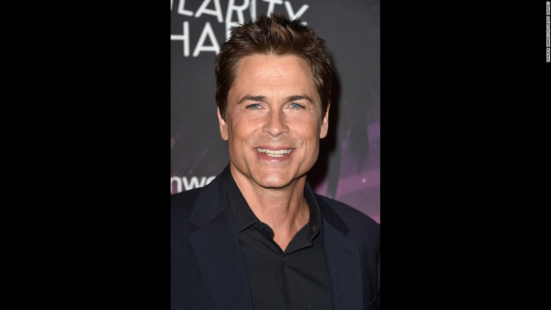Rob Lowe is 51. We repeat, Rob Lowe is 51.